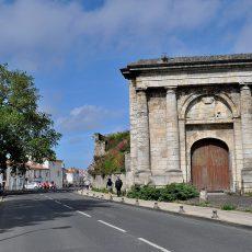La Porte Royale, vestige des fortifications de Vauban à La Rochelle