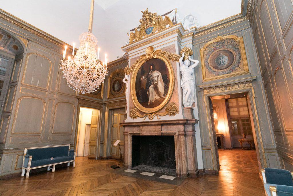 Intérieur du château de Maisons