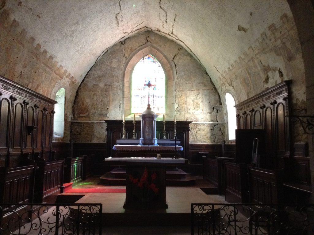 Intérieur de l'église de Revigny