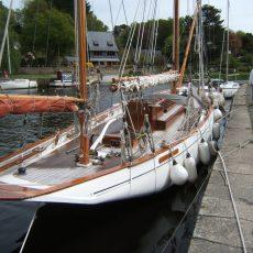 Le Minahouet, un voilier traditionnel basé à Pont-Aven