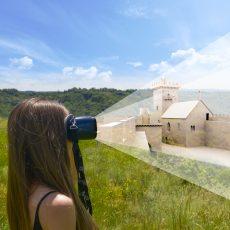 Une découverte en réalité augmentée de la forteresse de Carlat