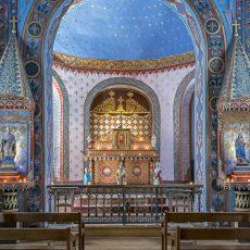 Les surprenantes peintures du XIXème siècle de la chapelle Saint-Saturnin à Bedoues-Cocurès