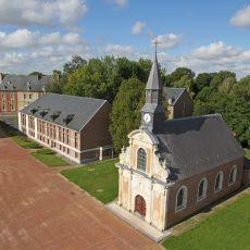 Restauration de la chapelle Saint-Louis, joyau de la Citadelle d'Arras