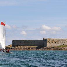 Fort Cigogne, site exceptionnel au large de Concarneau