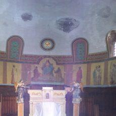 Réfection des toiles marouflées de l'église de Tencin