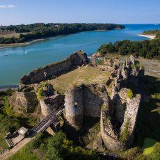 Les fiers vestiges du château du Guildo