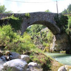 Le pont d'Évian : plus ancien pont en pierre de la Vallée d'Aulps