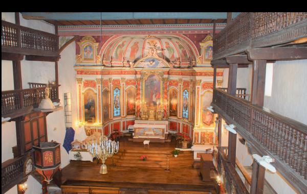 L'église labourdine Saint-Martin à Ahetze