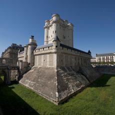 Le « pont dormant » du Château de Vincennes