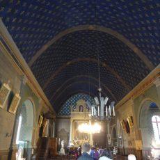 Restauration des vitraux et des lustres de l'église Saint Louis