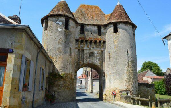 Restauration de la Porte de Champagne à Levroux
