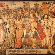 Restauration des tapisseries de la vie de Saint-Rémi
