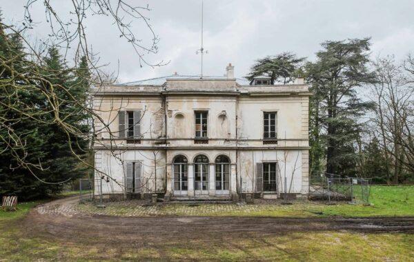 Restauration des décors peints de la Villa Viardot