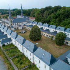 Restauration du grand cloître de la Chartreuse de Neuville